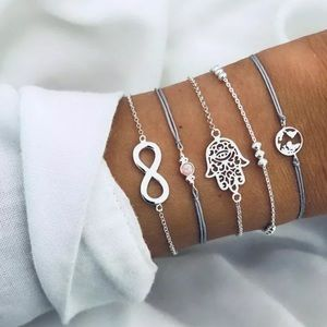 Fashion women jewelry rope set